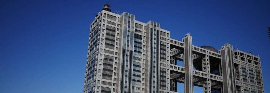 東京自由行必逛景點「台場」的富士電視台