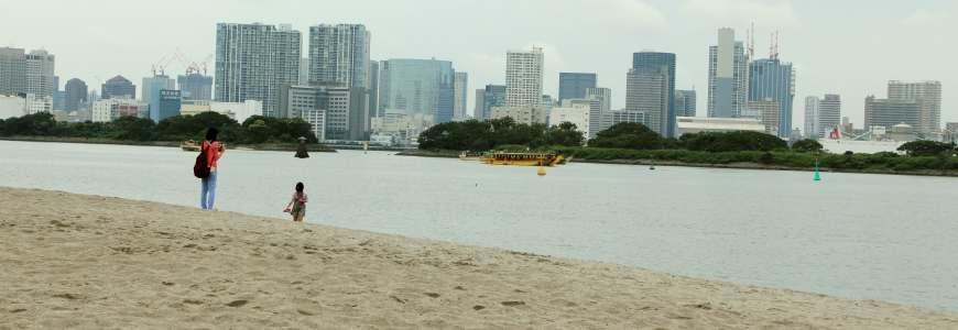 東京自由行必逛景點「台場」的台場海濱公園