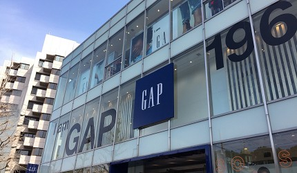 東京gap原宿店