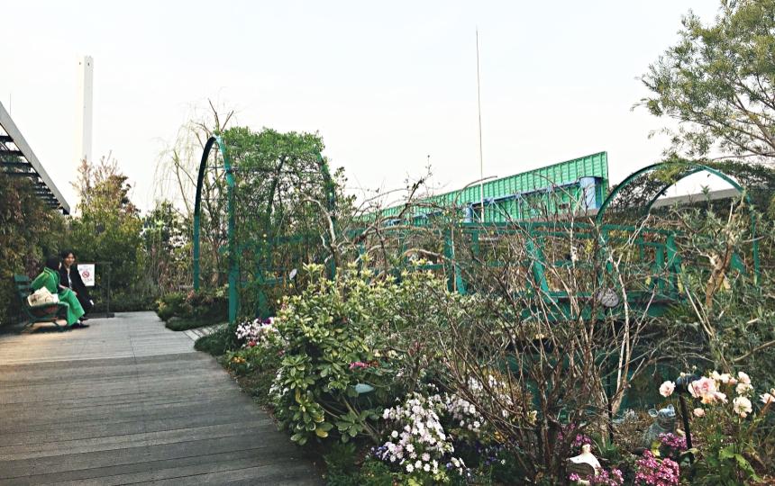 西武百貨9樓的花園