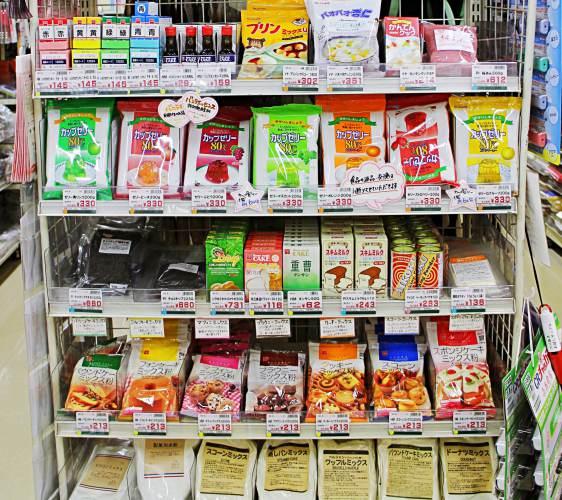 「シモジマ 下岛包装广场 浅草桥本店」贩售的果子DIY制菓手作料理甜点面包