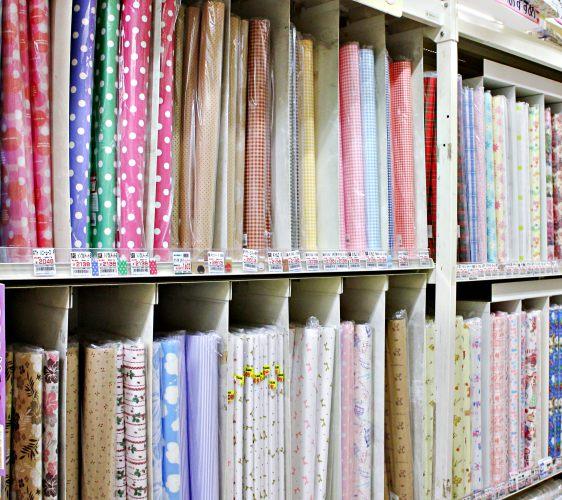 「シモジマ 下岛包装广场 浅草桥本店」贩售的包装纸系列