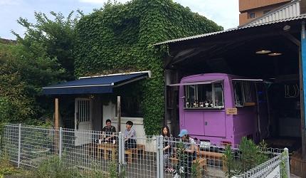 隱身象鼻公園的咖啡廳。