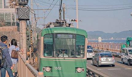 日本全國東京自由行旅遊全攻略推薦景點近郊湘南海岸聖地巡禮搭乘江之電