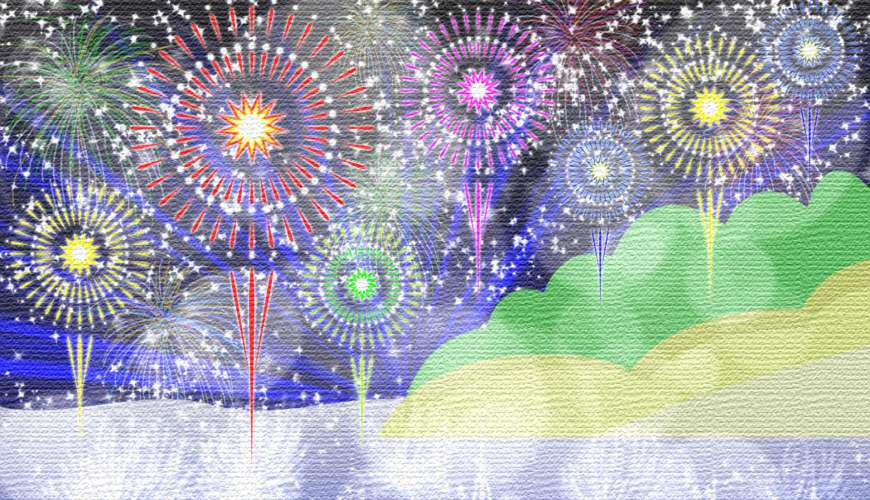 日本花火大会煙火大會2018與「樂吃購!日本」一起看葛飾納涼花火大会