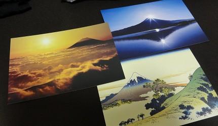 爬富士山時建議先寫好明信片到山頂可以立刻寄出去