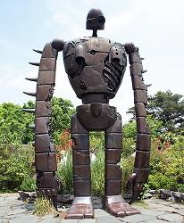 三鷹之森吉卜力美術館(三鷹の森ジブリ美術館)機械兵巨神兵