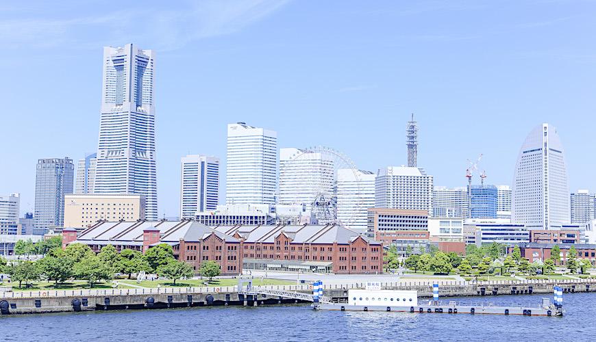 橫濱的日景