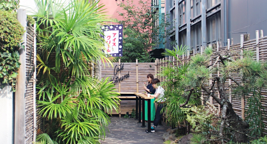 日本東京自由行必訪手沖咖啡推薦人氣店家表參道青山CAFEKITSUNE