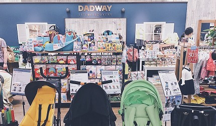 橫濱的Bay Quarter內的嬰兒用品店