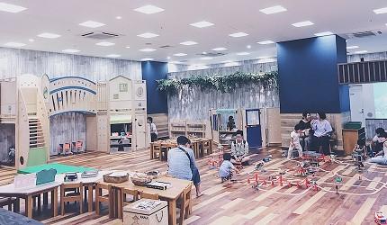 橫濱的Bay Quarter內的兒童玩樂區