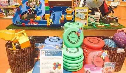 橫濱的Mark Is內的嬰兒用品店有售的嬰兒用品