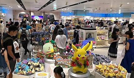 橫濱的寵物小精靈中心內的有許多比卡超比卡丘