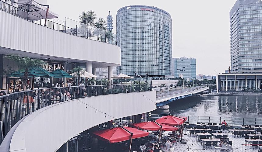 橫濱的Bay Quarter
