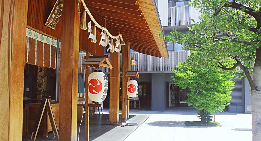 日本自由行東京神樂坂必訪景點赤城神社
