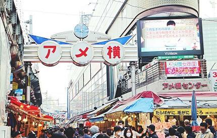 """日本東京自由行推薦必訪老街景點上野阿美橫町""""  width="""
