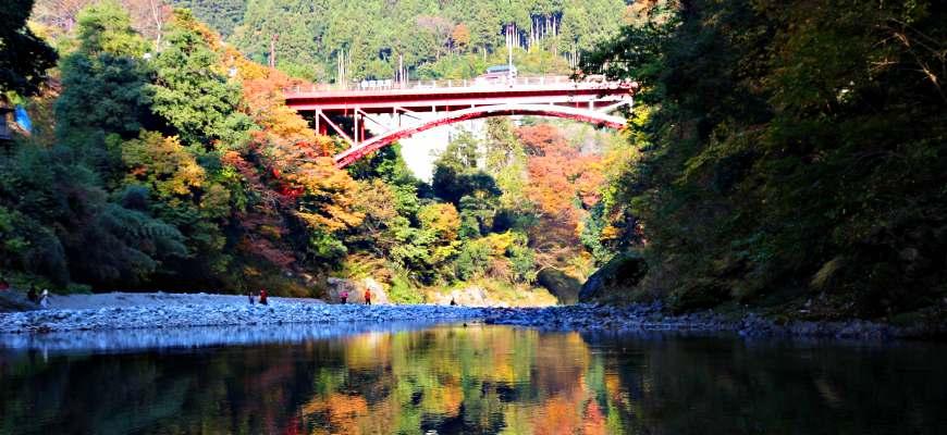 御嶽御岳山奧多摩湖賞楓紅葉散步一日遊