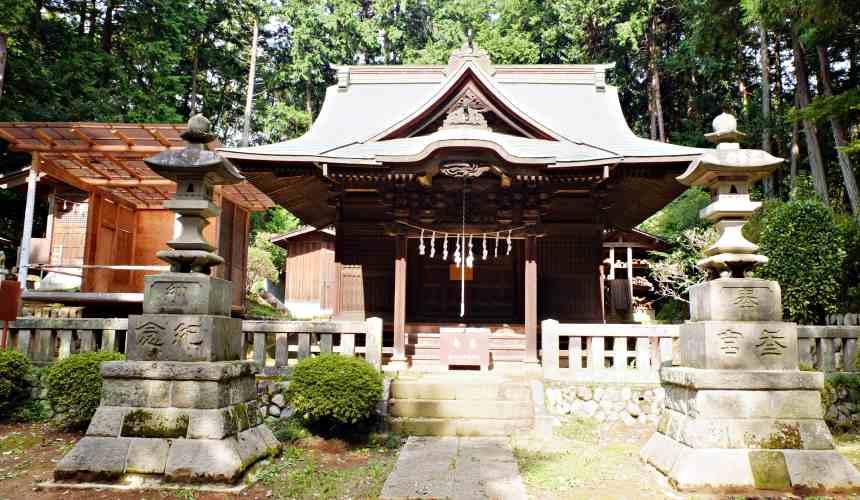 東京所澤的堀口天滿天神社