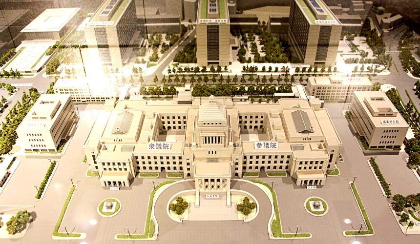 國會議事堂建築模型