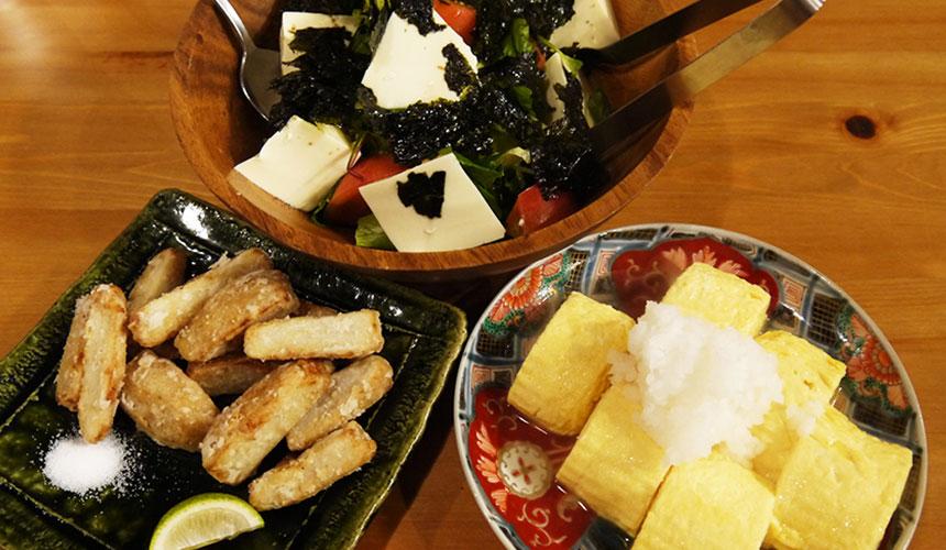 庫料理山崎(やまざき)玉子燒很好吃