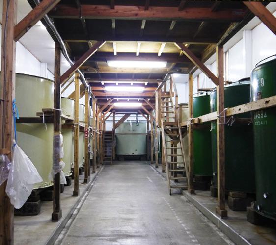 信濃町日本酒酒造釀造區