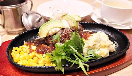北海道くろまる的酪梨漢堡排