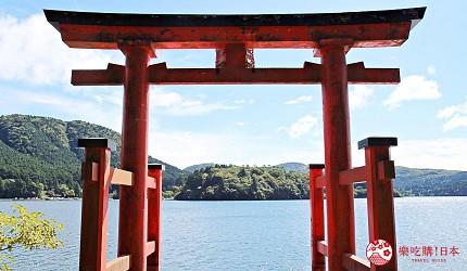 箱根平和鳥居