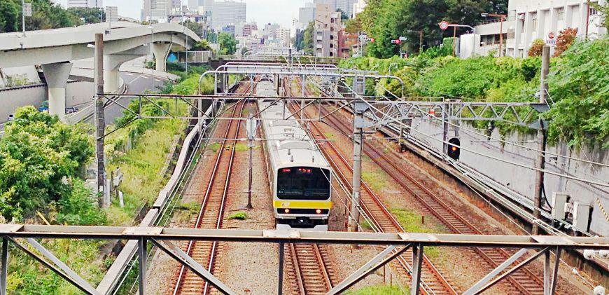 日本全國JR電車中央線總武線快速