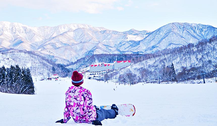 日本東京推薦冬天滑雪推薦長野白馬CORTINA粉雪鬆軟好滑、景色佳