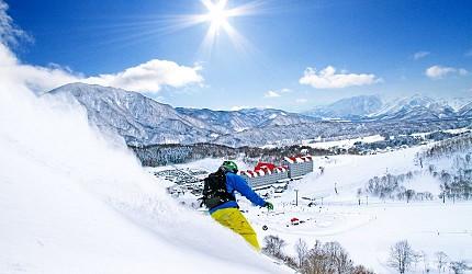 長野白馬CORTINA滑雪場推薦冬天滑雪