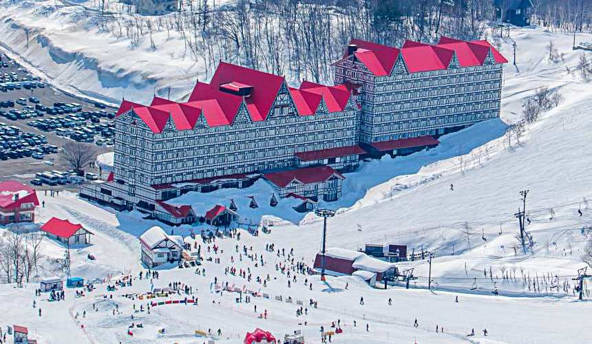 東京推薦滑雪場飯店長野白馬HOTEL GREEN PLAZA HAKUBA