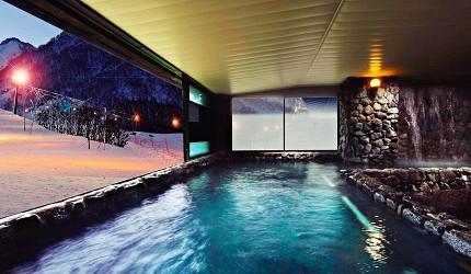 東京推薦滑雪場飯店長野白馬HOTEL GREEN PLAZA HAKUBA天然溫泉