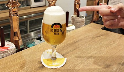 KIRIN一番搾生啤