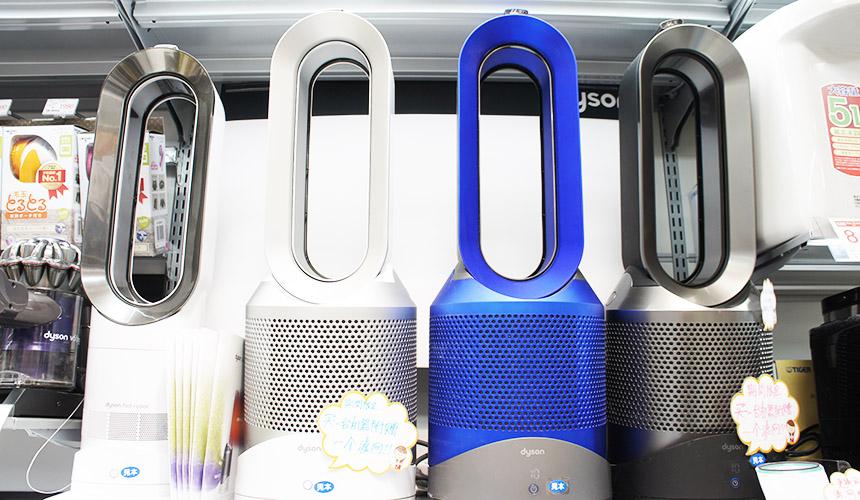 東京成田機場必買電器店家「Air BIC CAMERA」的Dyson三合一涼暖空氣清淨機