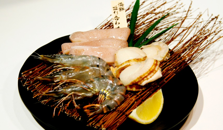 燒肉風風亭海鮮拼盤