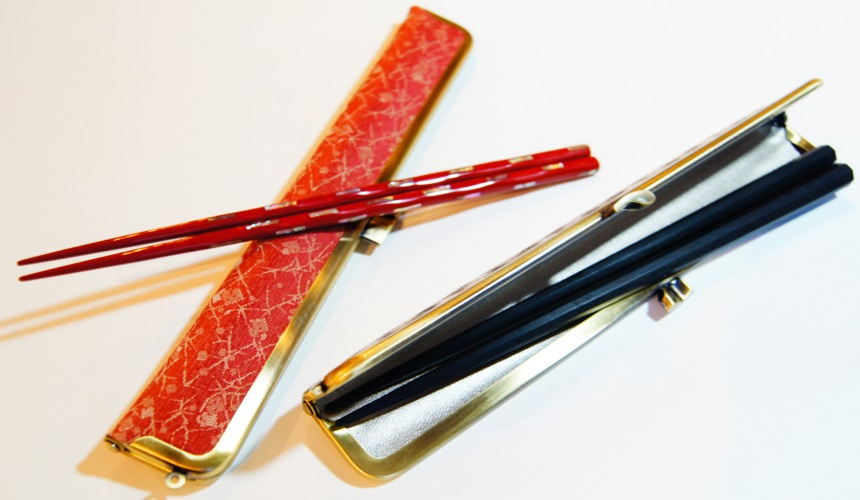 東京筷子專賣店「銀座夏野」的「環保筷子組」