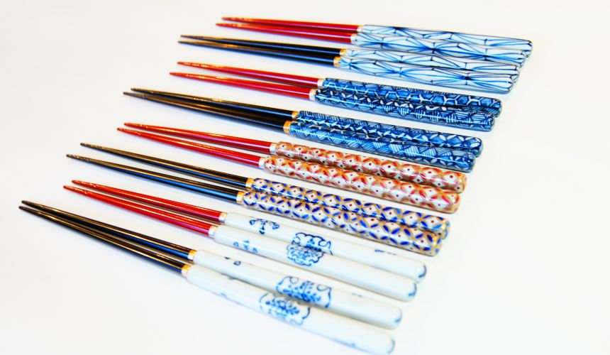 東京筷子專賣店「銀座夏野」質感佳的陶瓷筷子