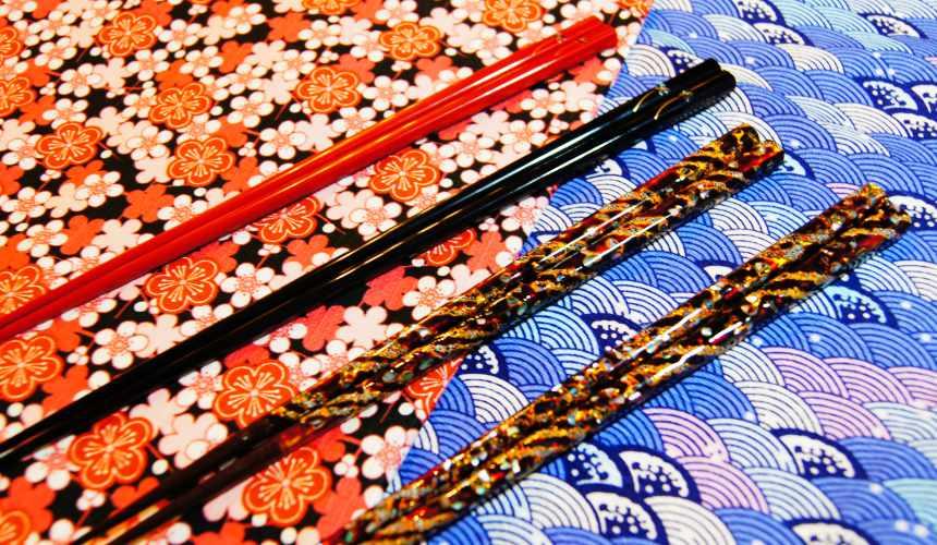 東京筷子專賣店「銀座夏野」的夫婦對筷