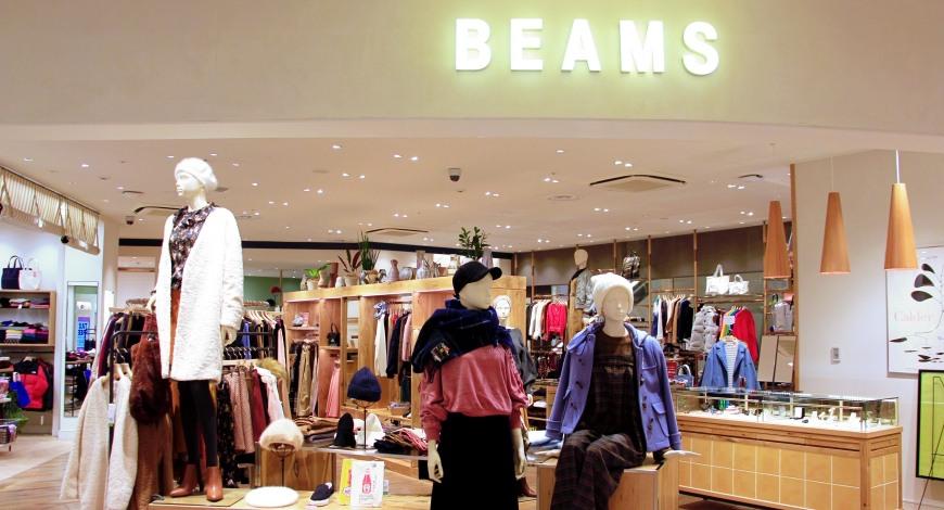 BEAMS在東京晴空街道的店舖