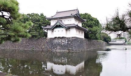 日本東京自由行景點江戶城