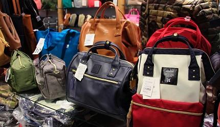 東京銀座買包推薦人氣行李箱、包包專賣店「Ginza Karen」的各種款式包包