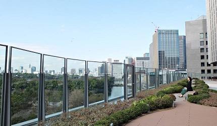 東京Midtown日比谷屋上庭園