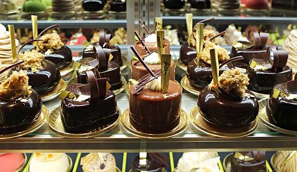 「Pâtisserie & Café DEL'IMMO」法式可可甜點