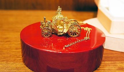 日本最大的訂製珠寶飾品店「K.UNO」灰姑娘的馬車飾品