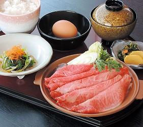 米澤牛極上鍋定食