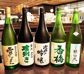 山形當地日本酒