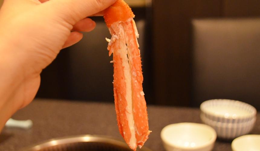 日本和牛吃到飽東京人氣燒肉名店「六歌仙」蟹腳
