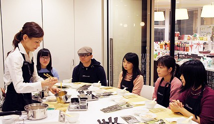 Sugarlady TASTING TABLE料理教室實況