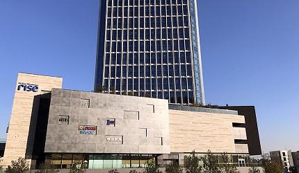 二子玉川車站旁的購物中心