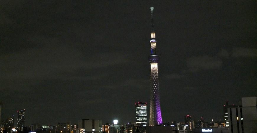 晴空塔夜景